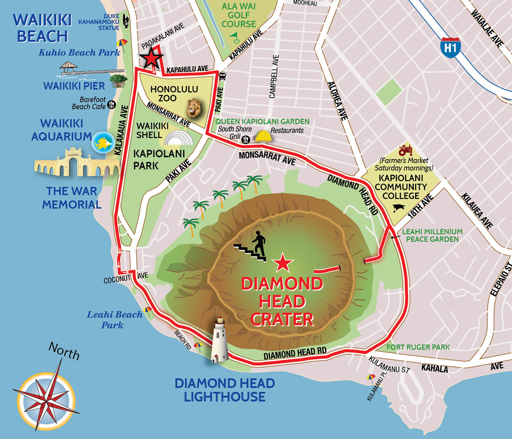 us trails map with Diamond Head Tour on Crater Lake in addition Glacier National Park Gay Montana Adventure moreover CHP AZ PapagoMap further 330662797613825891 moreover Olympic.